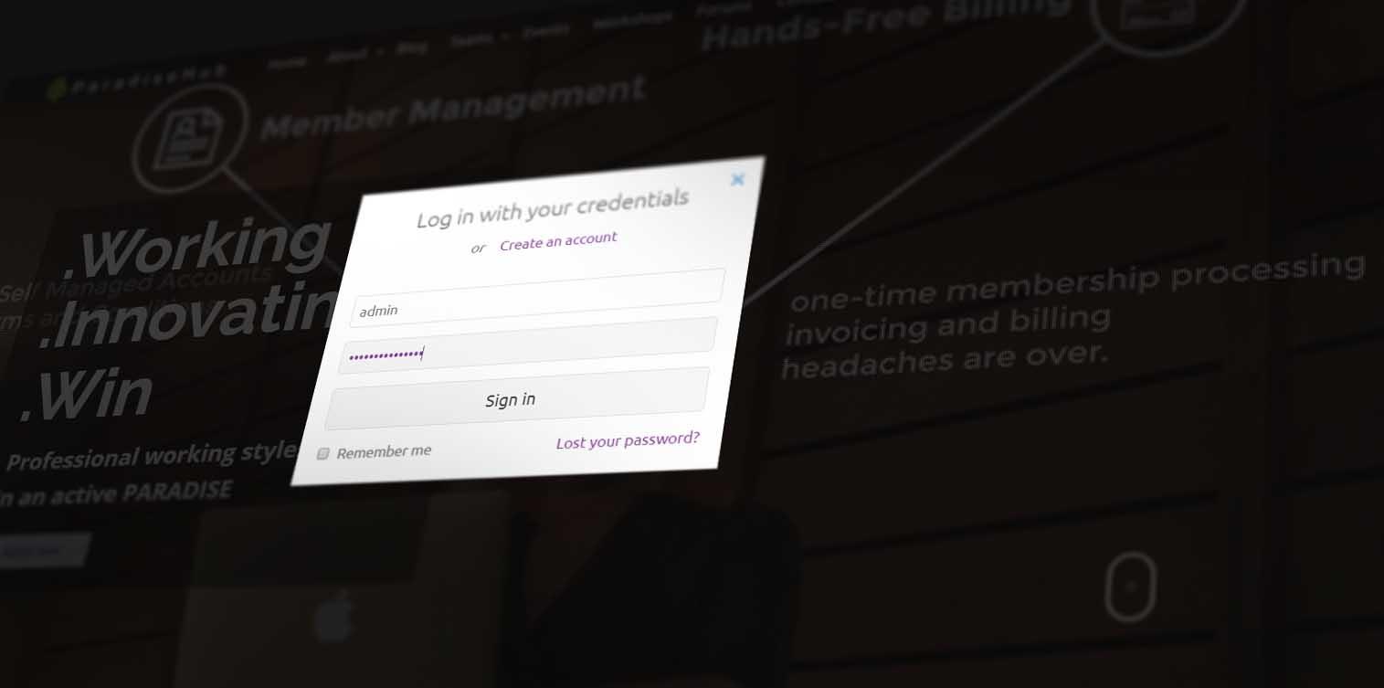 مدرنترین طراحی صفحه ورود در وب سایت